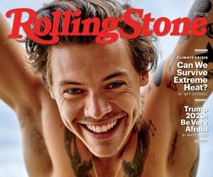 Harry Styles, harry, and rolling stone image