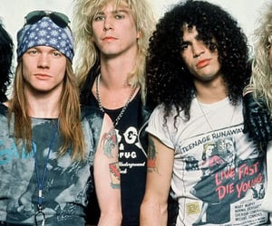 1980s, 80s, and Guns N Roses image