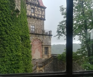 castle, nature, and Poland image