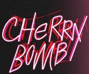 neon lights and cherry bomb image