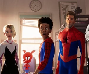 spiderman, peter parker, and miles morales image