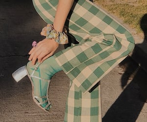 fashion, vintage, and green image