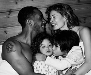 Doutzen Kroes, family, and interracial image
