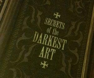 book, dark, and secret image