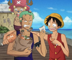 one piece, monkey d luffy, and friends image