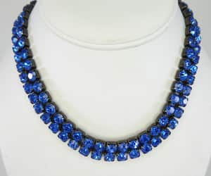 etsy, vintage 1980s, and royal blue image