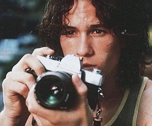 heath ledger, camera, and 90s image