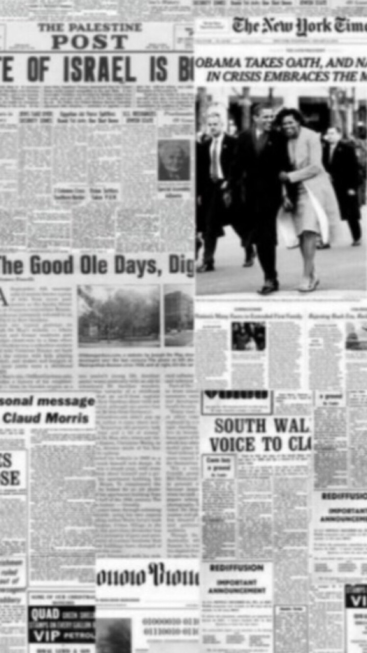 aesthetic, newspaper, and wallpaper image