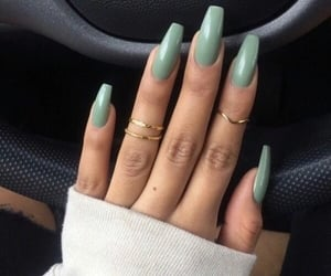 aesthetic, nails, and car image