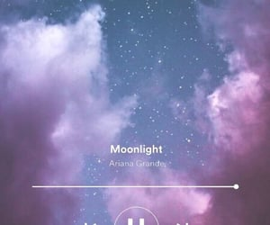 aesthetic, galaxy, and moonlight image