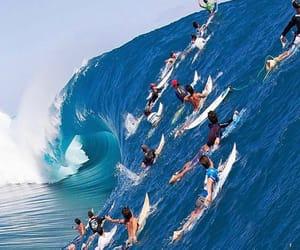 surf, surfer, and boy image