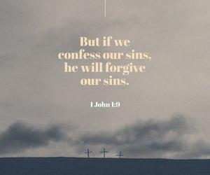 sin, bible, and god image