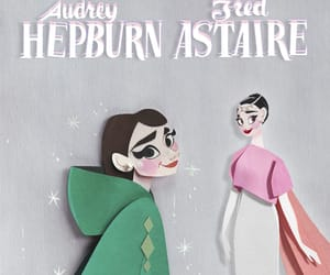 audrey hepburn, funny face, and movie image