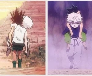 best friends, anime boy, and killua zoldyck image