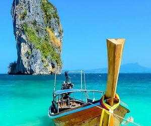 thailand, phuket, and boat image