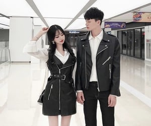 asian boy, couple, and fashion image