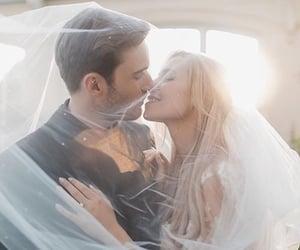 wedding, pewdiepie, and wedding dress image