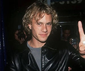 actor, heath, and blond image
