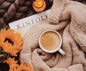 coffee, aesthetic, and fall image