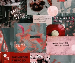 red, red wallpaper, and red aesthetic image