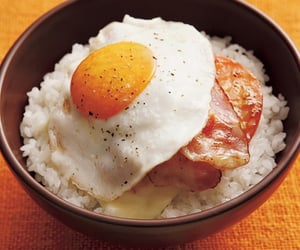 eggs, food, and rice image
