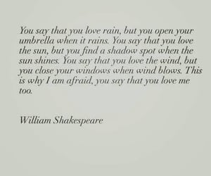 poem, shakespeare, and love image
