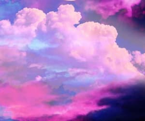 aesthetic, cloud, and ciel image