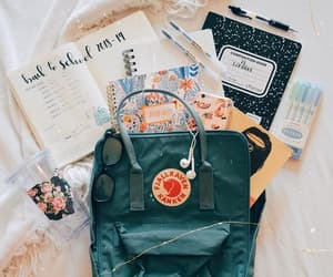 article, backpack, and school image