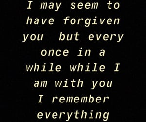 forget, mistakes, and forgive image