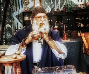 apothecary, merlin, and music image