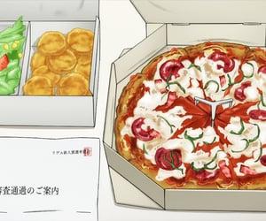 anime, one room, and anime food image