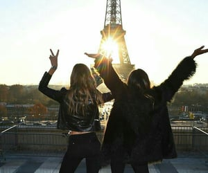 best friends, france, and friendship image
