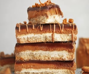 Easy Biscoff shortbread bars recipe | The Little Blog Of Vegan