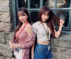 kpop, yena, and jo yuri image