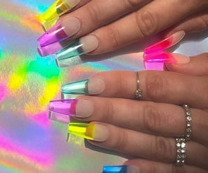 acrylics, clear, and colorful image