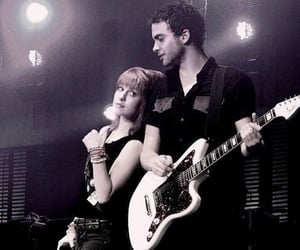 black, concert, and hayley williams image