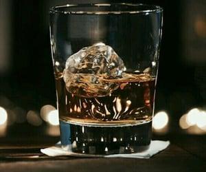 alcohol, night, and bar image