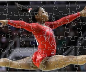 gymnastics, sports, and just jigsaws image