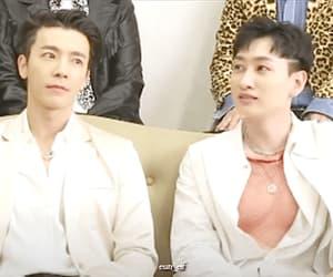 donghae, eunhyuk, and gif image