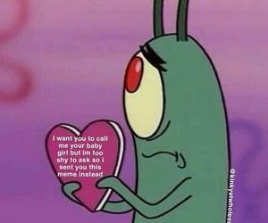 meme, wholesome meme, and plankton image