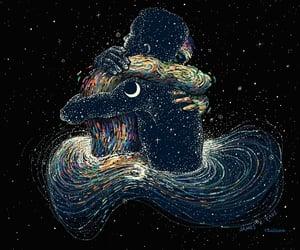 love, gif, and stars image