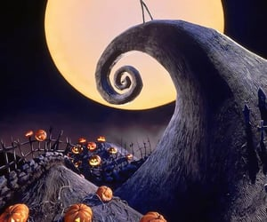 Halloween, the nightmare before christmas, and tim burton image