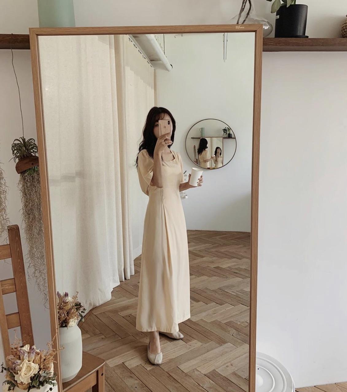 Elegant Beige Dress Discovered By Grace On We Heart It