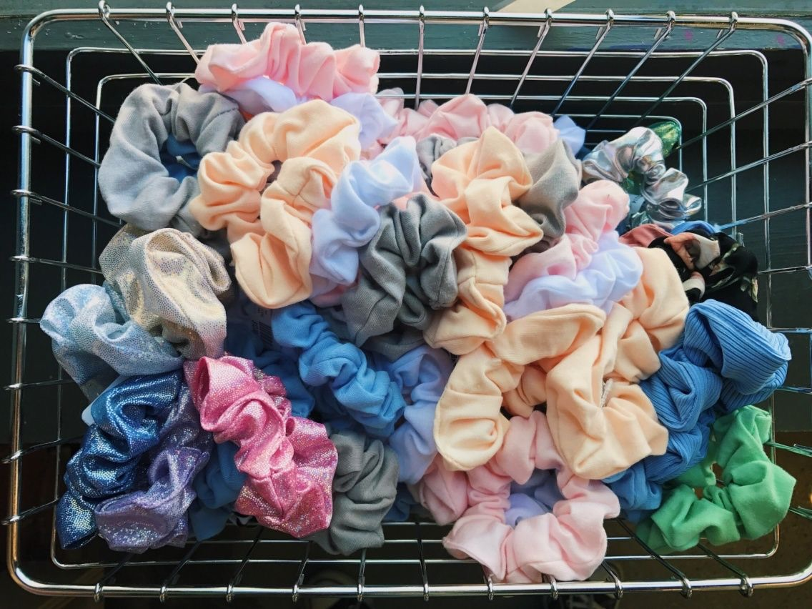 scrunchies and aesthetic image