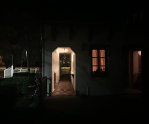 dark, night, and garden image