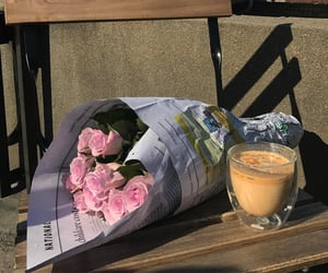 flowers, coffee, and alternative image