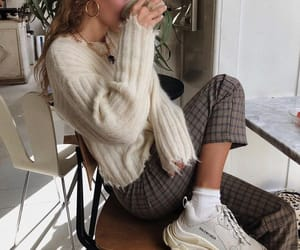 coffee, cozy, and girl image