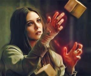 Marvel, elizabeth olsen, and scarlet witch image