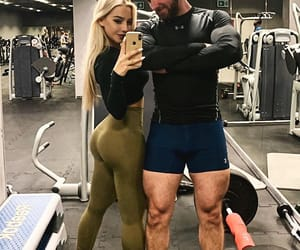 butt, couple, and fit image