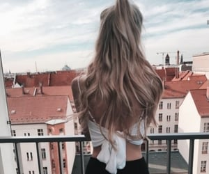 hair, style, and travel image